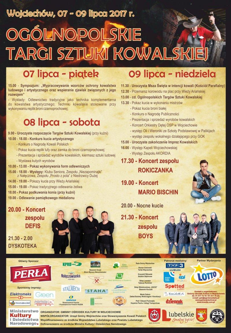 Kowale Wojciechów - Program